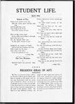 Student Life, May 1903, Vol. 1 No. 7
