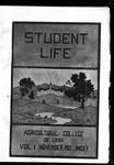 Student Life, November 1902, Vol. 1, No. 1