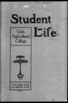 Student Life, October 1906, Vol. 5, No. 1