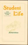 Student Life, November 1907, Vol. 6, No. 2