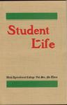Student Life, December 1907, Vol. 6, No. 3 by Utah State University