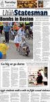 The Utah Statesman, April16, 2013