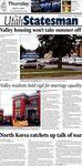 The Utah Statesman, April 4, 2013