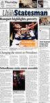 The Utah Statesman, February 21, 2013