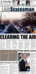 The Utah Statesman, January 22, 2013