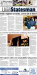 The Utah Statesman, November 1, 2012