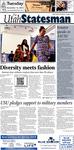 The Utah Statesman, November 13, 2012