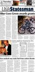 The Utah Statesman, November 27, 2012