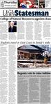 The Utah Statesman, November 29, 2012