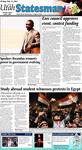 The Utah Statesman, February 11, 2011