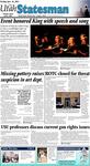 The Utah Statesman, January 14, 2011