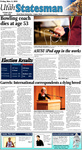 The Utah Statesman, November 5, 2010