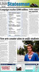 The Utah Statesman, August 30, 2010