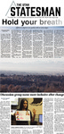 The Utah Statesman, December 4, 2014