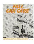 Fall Car Care: Fall 2008 by Utah State University