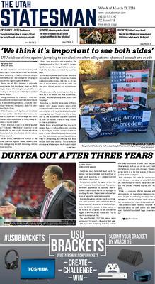 The Utah Statesman | Students | Utah State University