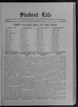 Student Life, November 15, 1912, Vol. 11, No. 8 by Utah State University