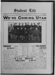 Student Life, November 22, 1912, Vol. 11, No. 9 by Utah State University