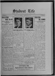 Student Life, December 13, 1912, Vol. 11, No. 12