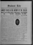 Student Life, January 10, 1913, Vol. 11, No. 14