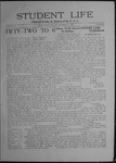Student Life, October 2, 1908, Vol. 7, No. 3 by Utah State University