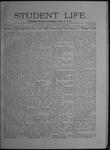 Student Life, November 13, 1908, Vol. 7, No. 9
