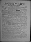 Student Life, April 9, 1909, Vol. 7, No. 27 by Utah State University