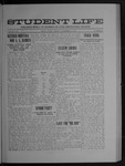 Student Life, November 19, 1909, Vol. 8 No. 10 by Utah State University