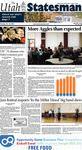 The Utah Statesman, October 15, 2013