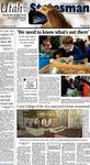 The Utah Statesman, January 28, 2014