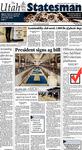The Utah Statesman, February 11, 2014