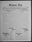 Student Life, November 17, 1911, Vol. 10, No. 9