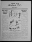 Student Life, March 22, 1912, Vol. 10, No. 23