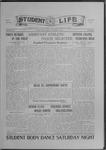 Student Life, October 1, 1915, Vol. 14, No. 2