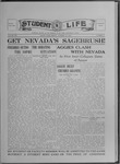 Student Life, October 15, 1915, Vol. 14, No. 4