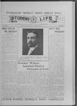 Student Life, January 28, 1916, Vol. 14, No. 16