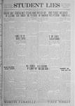 Student Lies, April 18, 1919, Vol. 17, No. 14