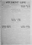 Student Life, April 25, 1919, Vol. 17, No. 15