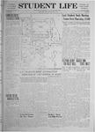 Student Life, May 31, 1919, Vol. 17, No. 20