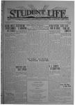 Student Life, September 26, 1919, Vol. 17, No. 2
