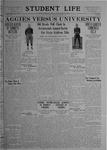 Student Life, November 25, 1919, Vol. 18, No. 9