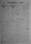 Student Life, December 5, 1919, Vol. 18, No. 10