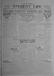 Student Life, January 9, 1920, Vol. 18, No. 14