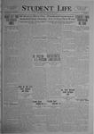 Student Life, January 16, 1920, Vol. 18, No. 15