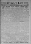 Student Life, February 27, 1920, Vol. 18, No. 20