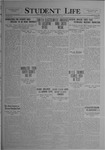 Student Life, March 26, 1920, Vol. 18, No. 24