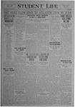 Student Life, April 2, 1920, Vol. 18, No. 25