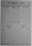 Student Life, April 30, 1920, Vol. 18, No. 28
