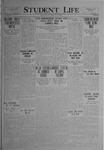 Student Life, May 14, 1920, Vol. 18, No. 30