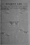 Student Life, October 29, 1920, Vol. 19, No. 7